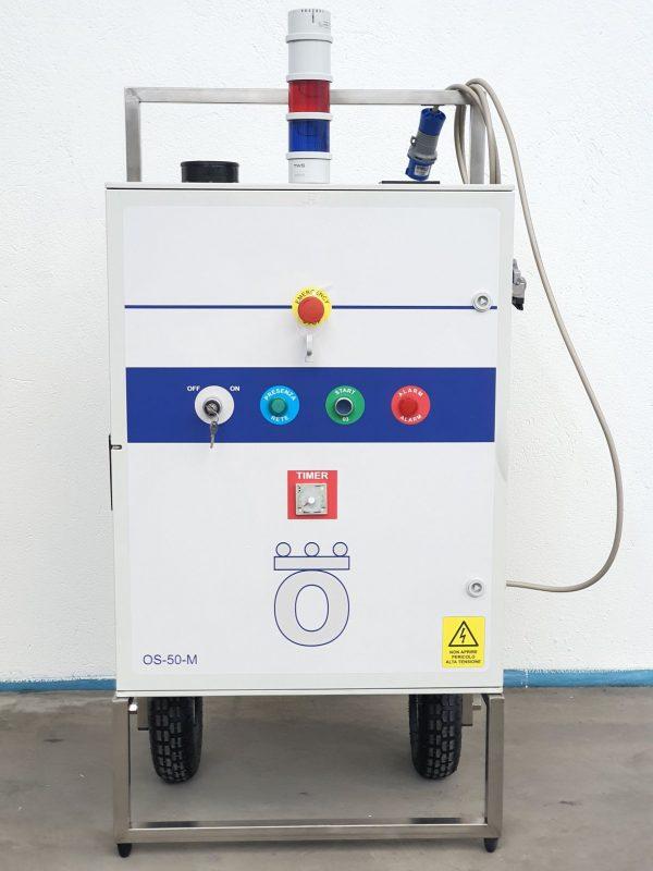 Generatore di Ozono Industriale, trattamento di ampie cubature